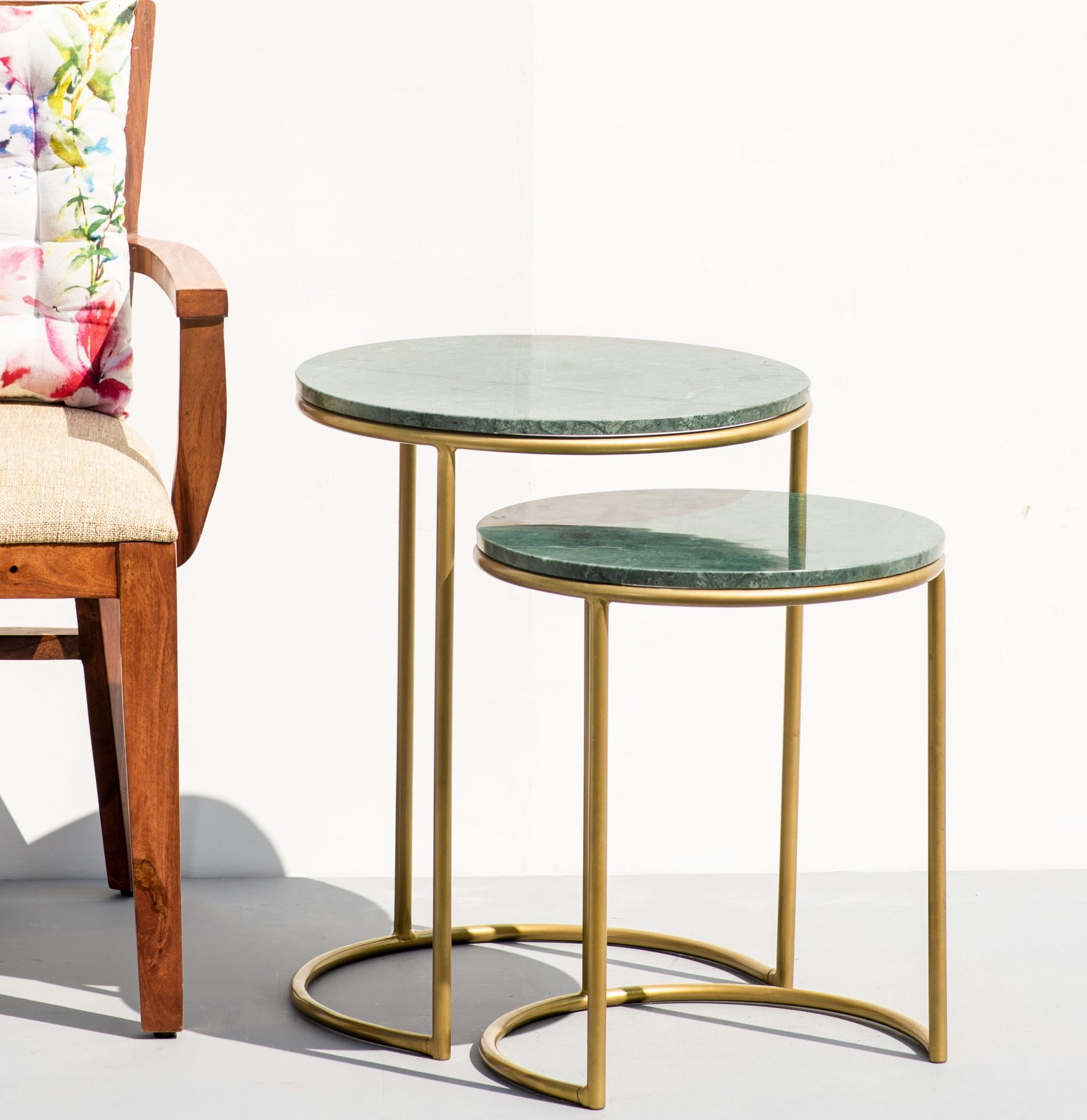 Nykaa Home- The Decor Remedy jade green table