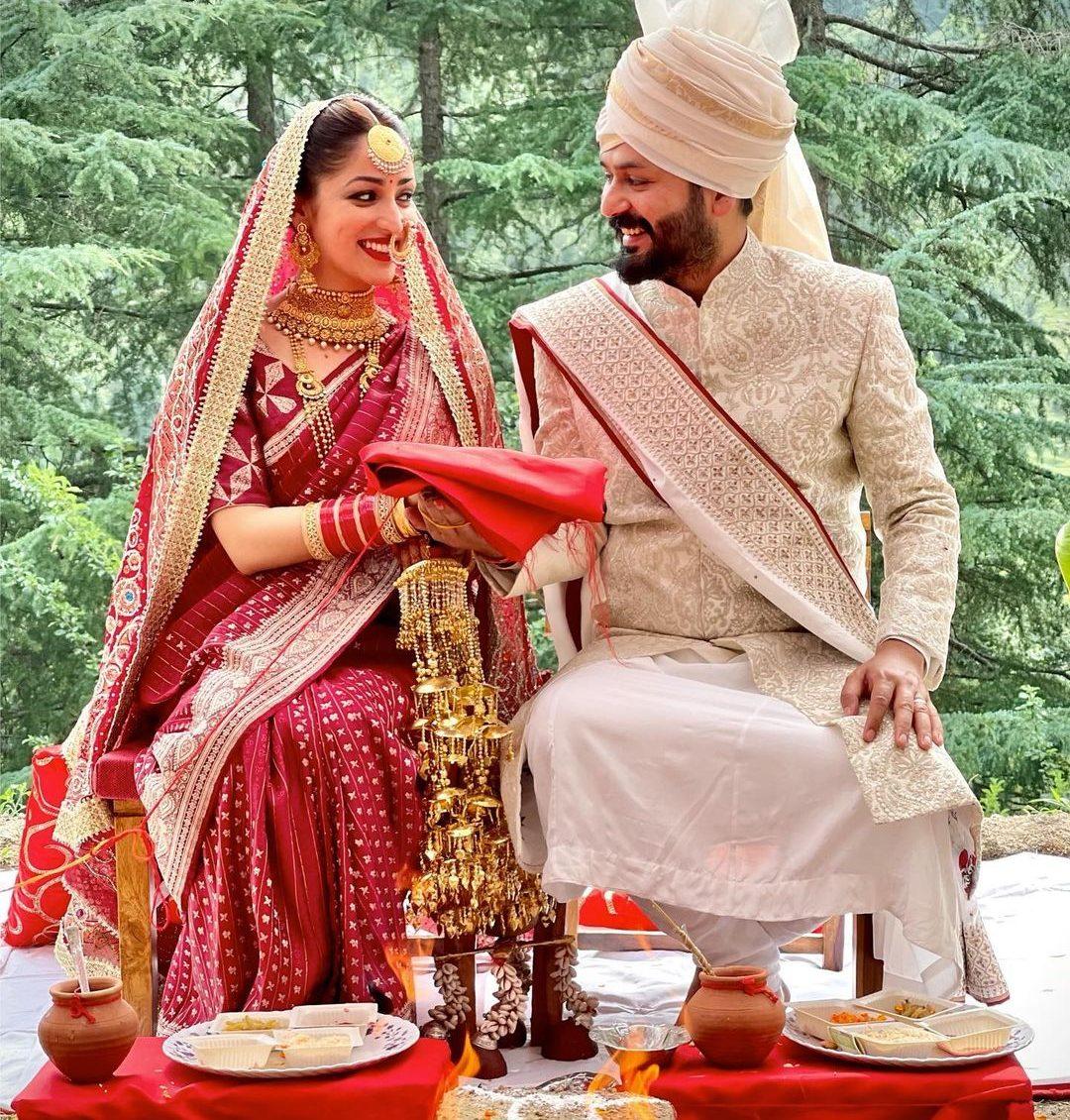 Yami Gautam wedding with Aditya Dhar