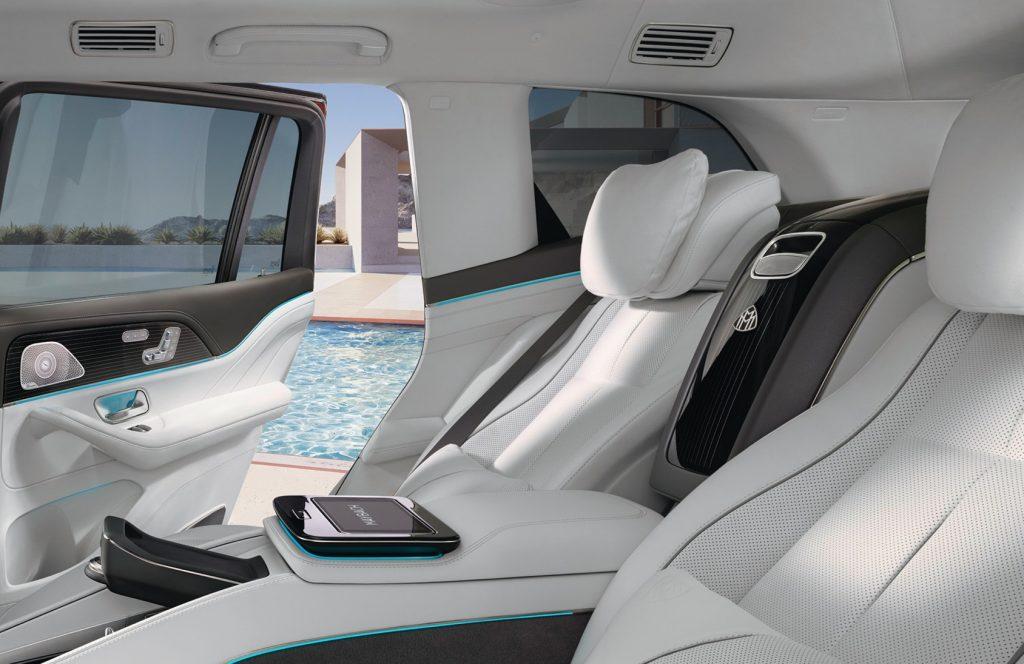 Mercedes-Maybach GLS 600 interior