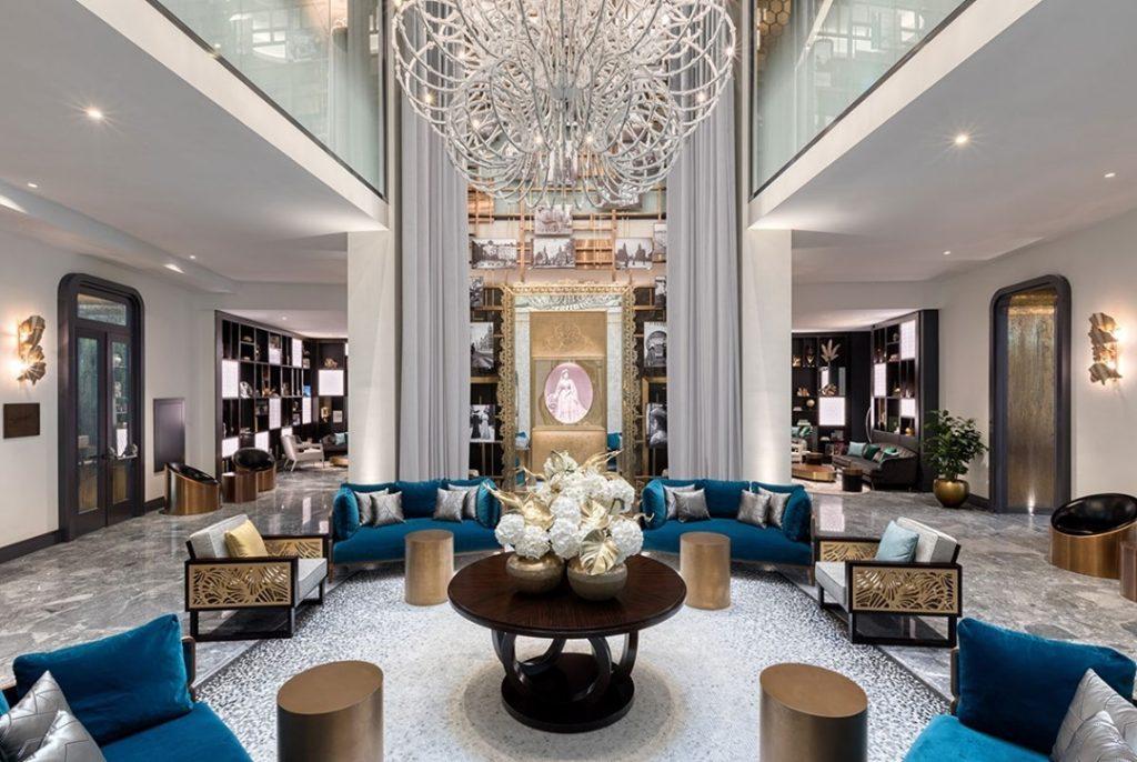 Matlid Palace Hotel Lobby
