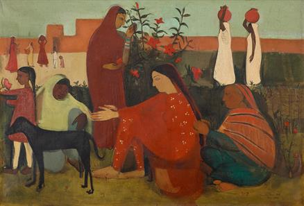 Amrita Sher-Gil, second-most Indian artwork
