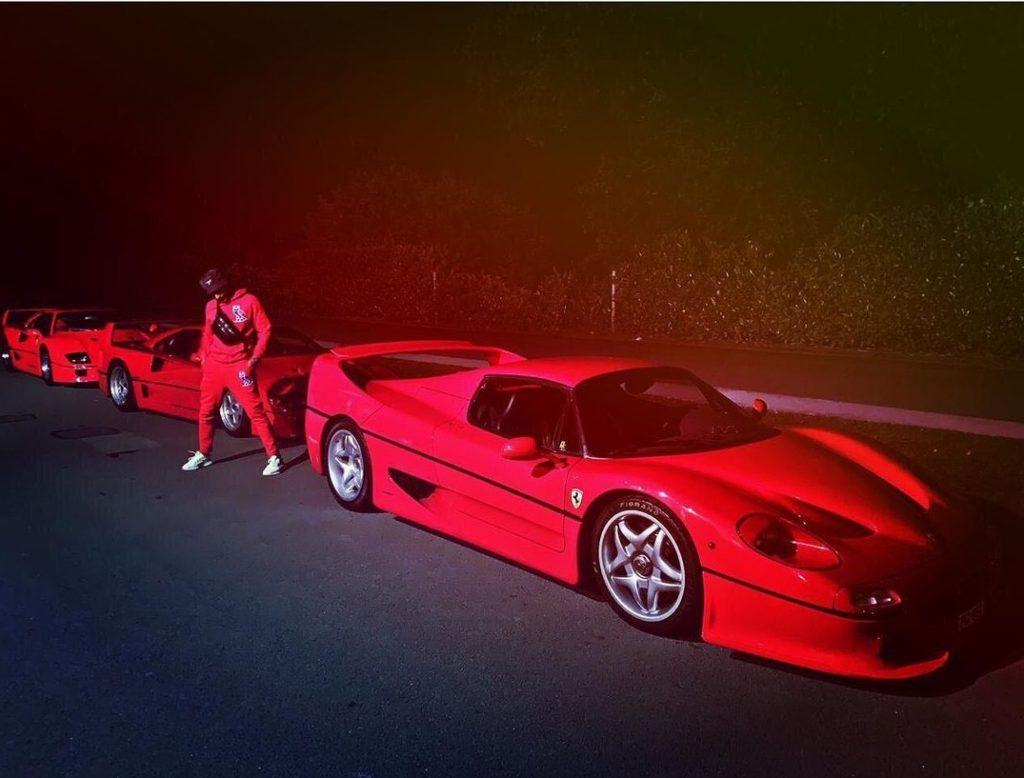 Ranveer Singh Ferrari