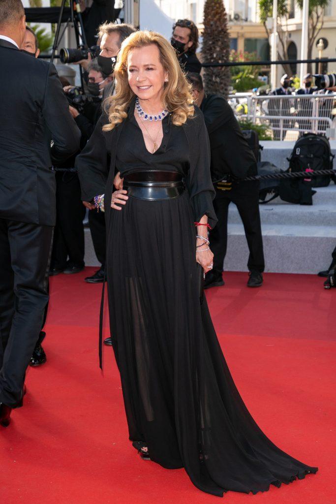 Chopard's Co-President Caroline Scheufele at Cannes Film Festival, 2021