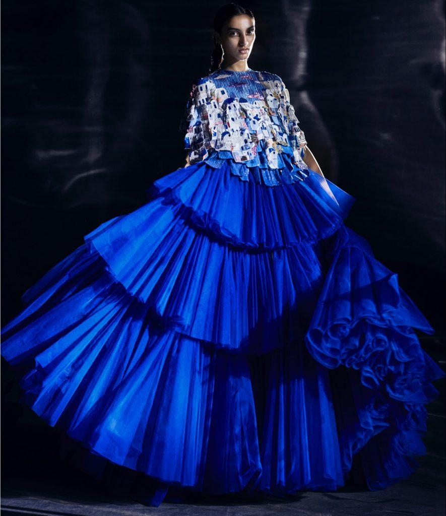 Rahul Mishra at Haute Couture Week