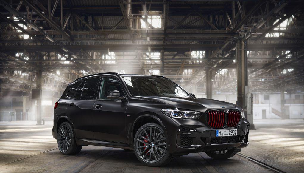 2022 BMW X5 Black Vermilion Edition