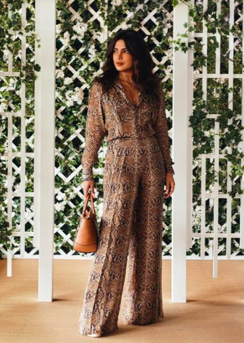 Priyanka Chopra in Ralph Lauren Pre-Fall 2021