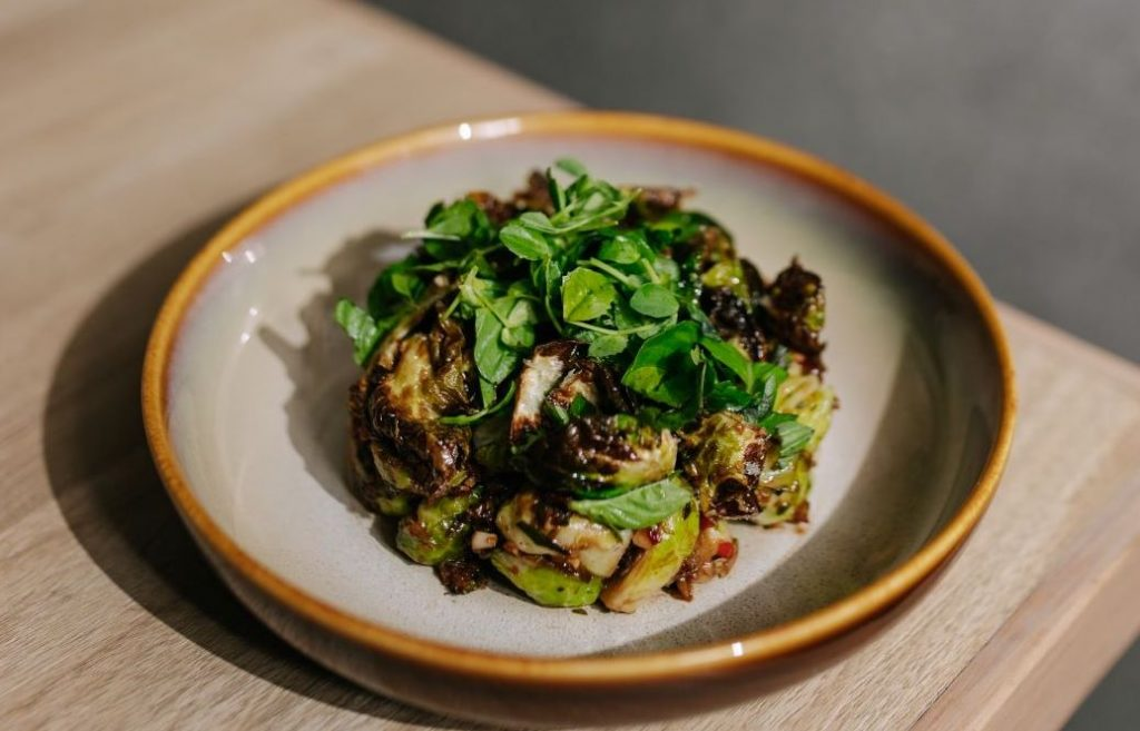Seared Brussel Sprouts