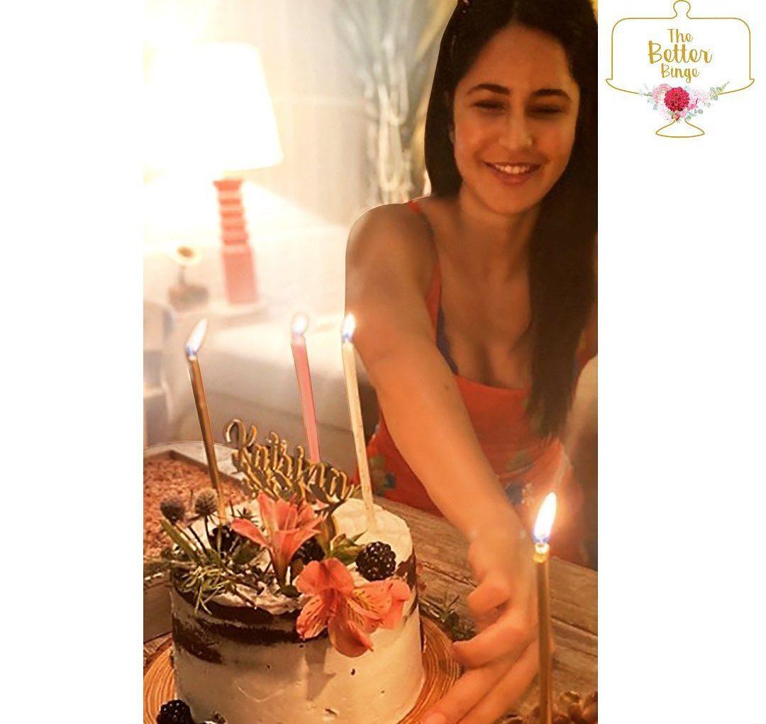 The Better Binge cake for Bollywood's Katrina Kaif