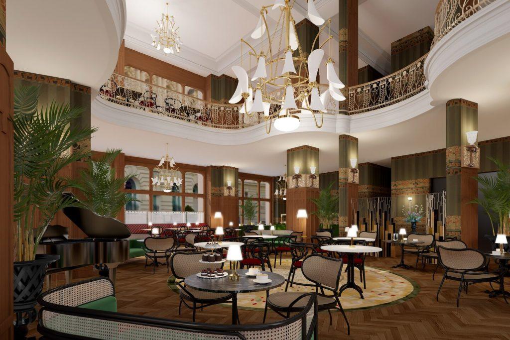 Matlid Palace Hotel, Matild Café and Cabaret