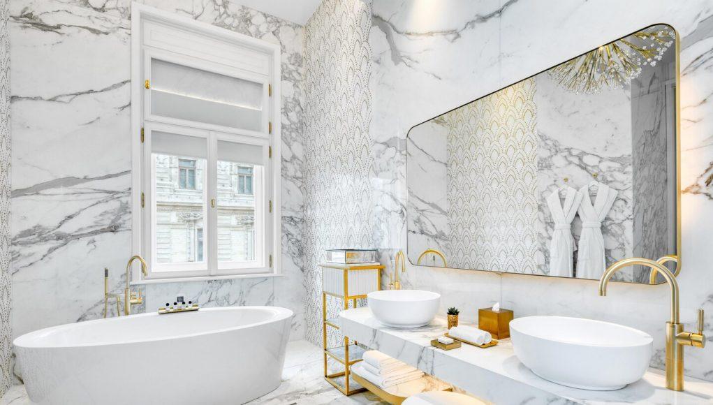 Matlid Palace Hotel Maria Klotild Royal Suite Bathroom