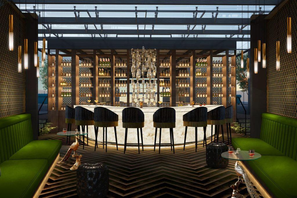 Matlid Palace Hotel, The Duchess Rooftop Bar