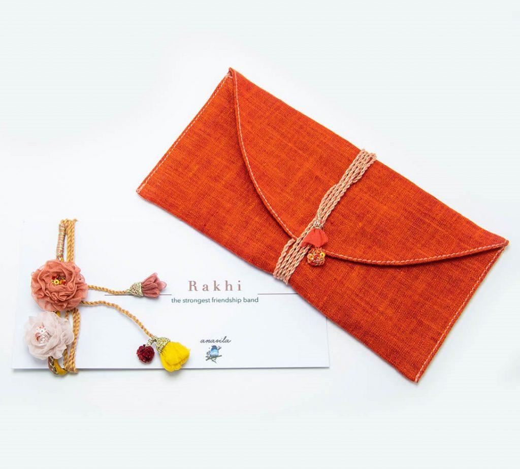 Anavila Organza-floral-rakhi_a