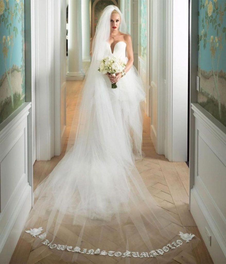 White wedding gowns